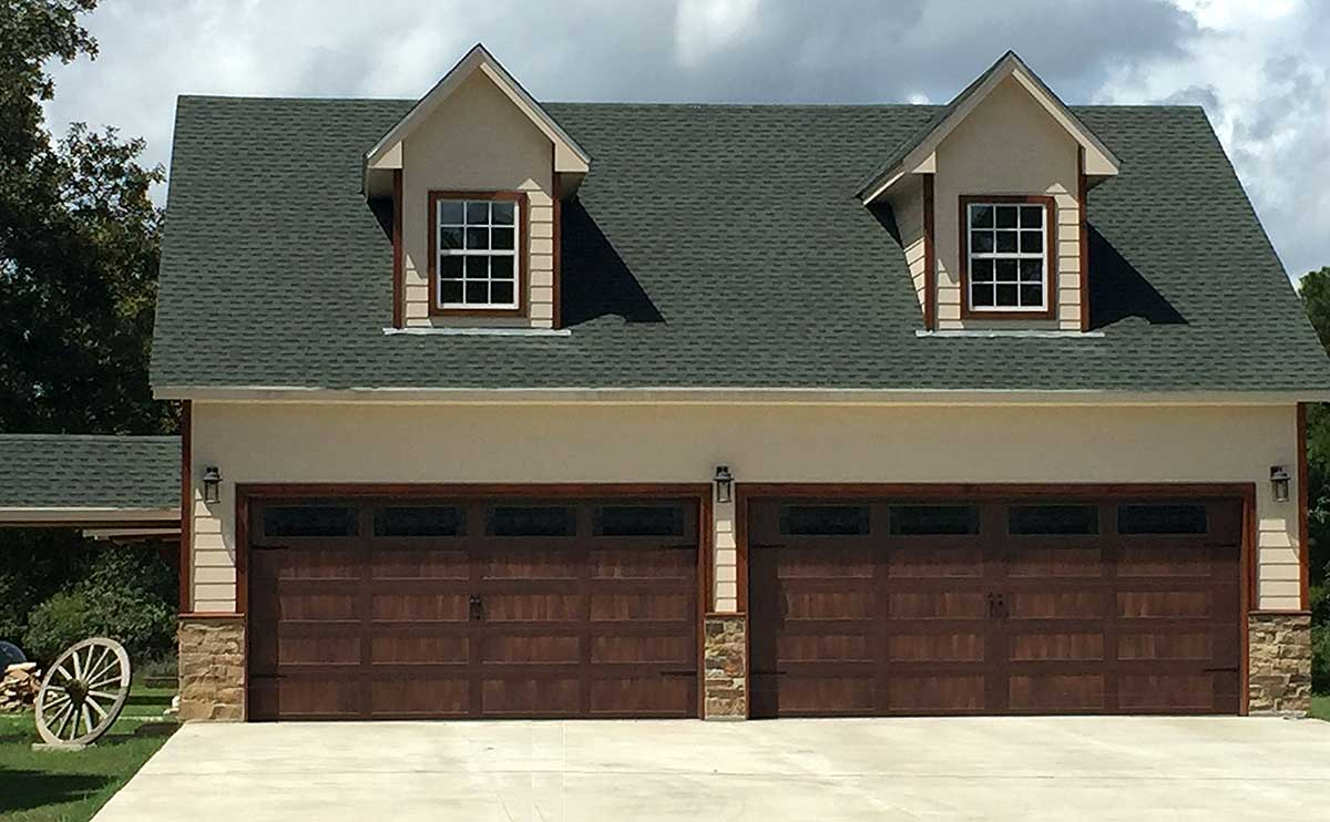 Detached Garage Plan With Man Cave Potential
