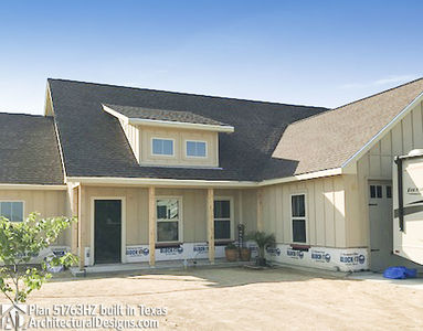 House Plan 51763HZ comes to life in Texas - photo 005