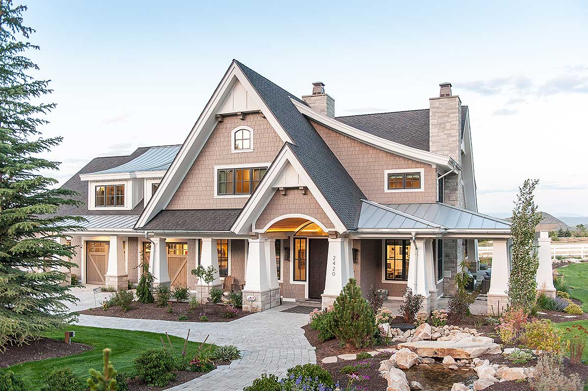 Exclusive luxury craftsman with no detail spared 18295be - What is a craftsman style house ...