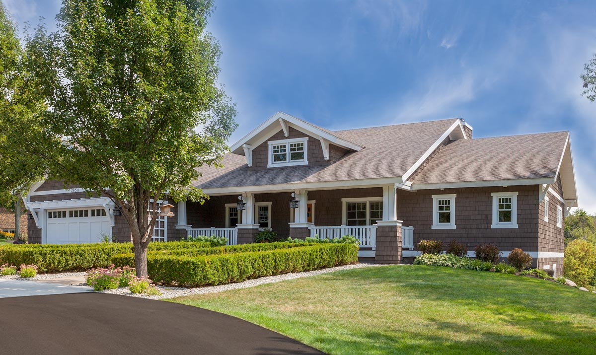 Expandable Northwest Ranch House Plan 970044vc