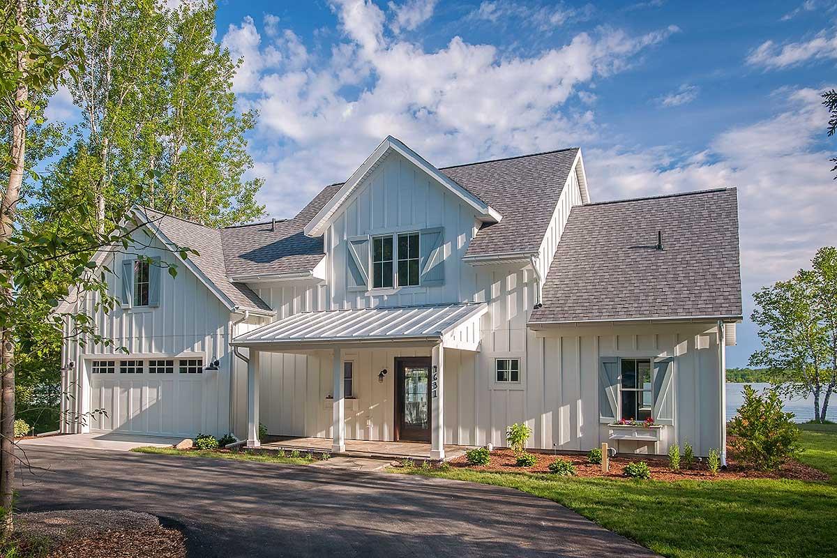 Open Layout Farmhouse House Plan - 970048VC ...