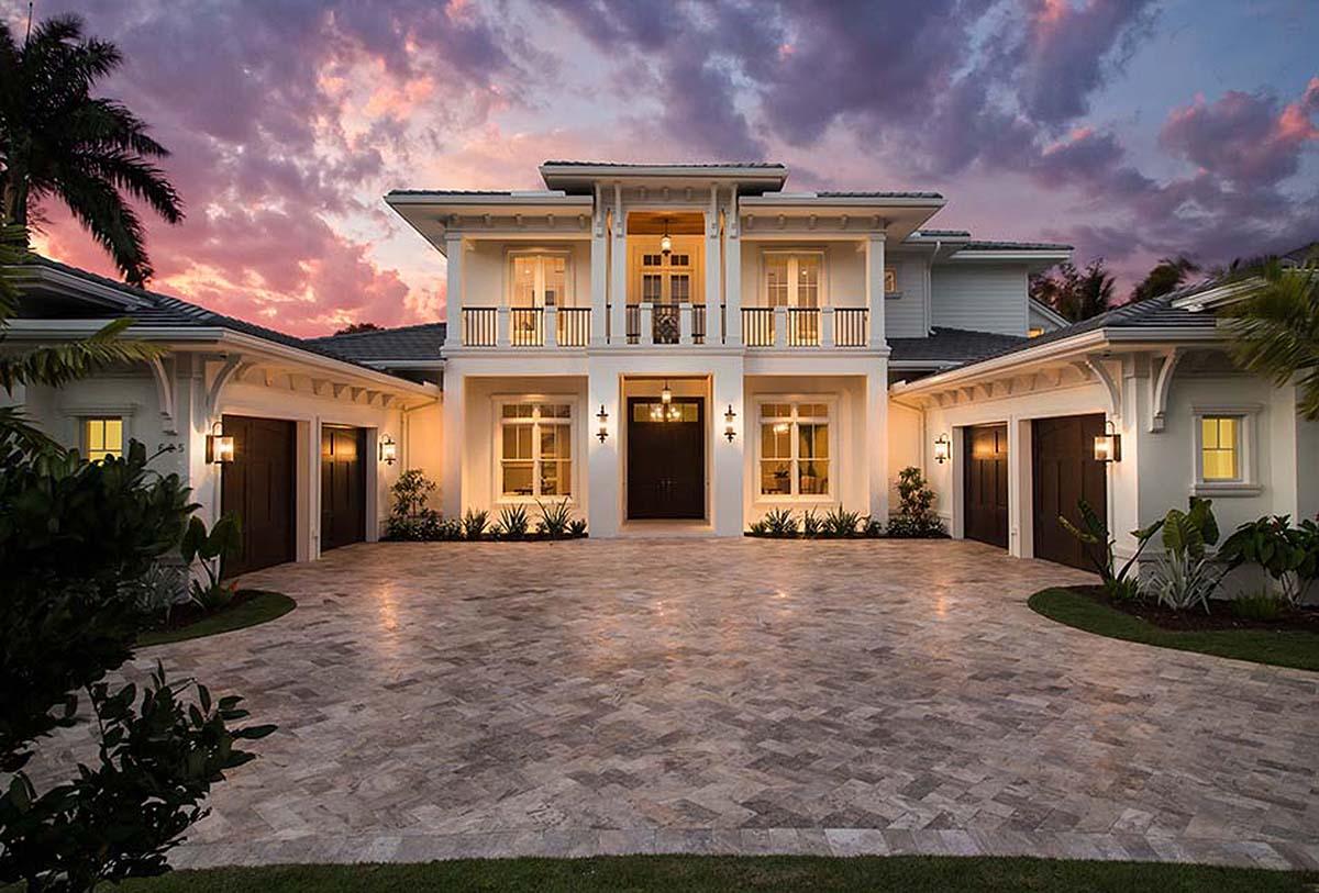 Spacious Tropical House Plan 86051bw Architectural
