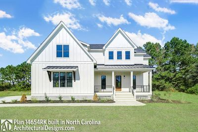 House Plan 14654RK Comes to life in North Carolina - photo 001