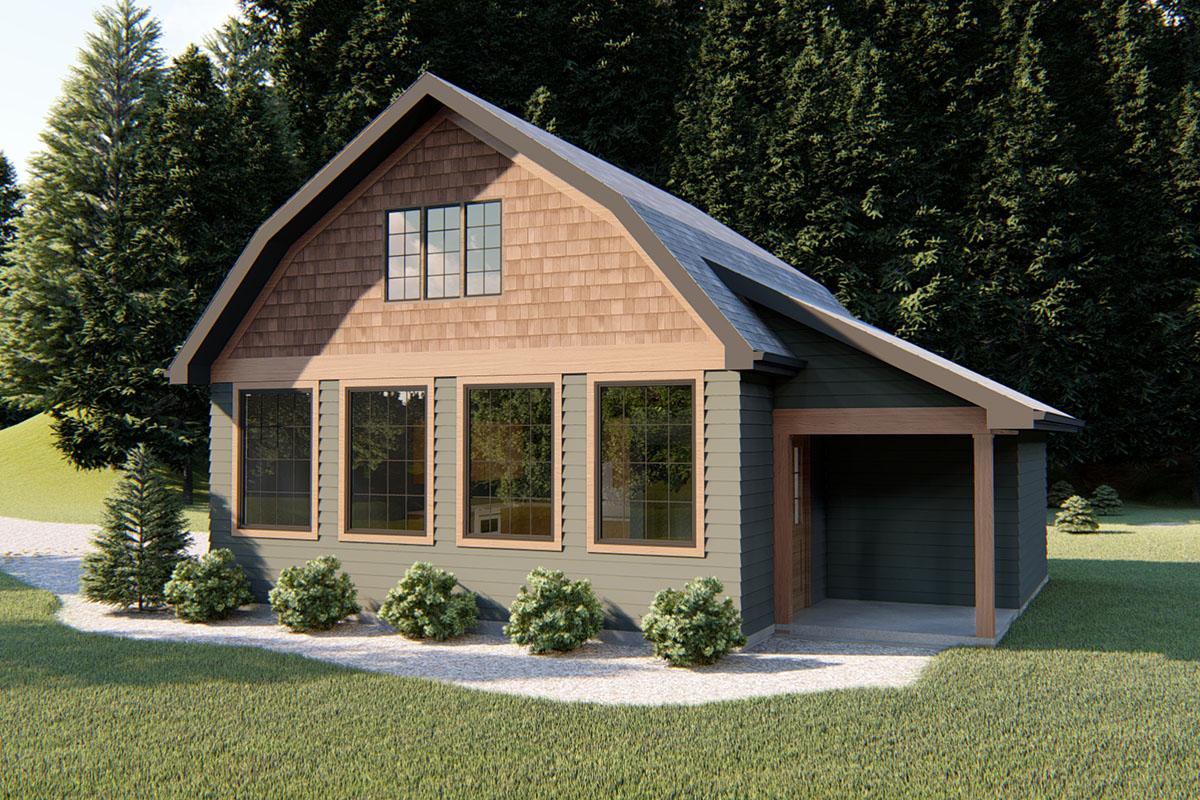 Barndominium Adu House Plan