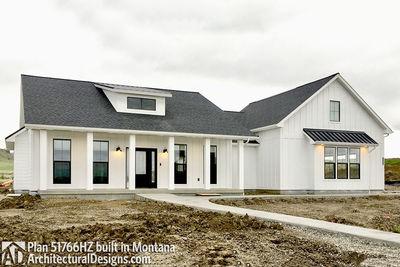 Exclusive Modern Farmhouse Plan 51766HZ comes to life in Montana - photo 014