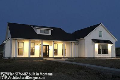 Exclusive Modern Farmhouse Plan 51766HZ comes to life in Montana - photo 016