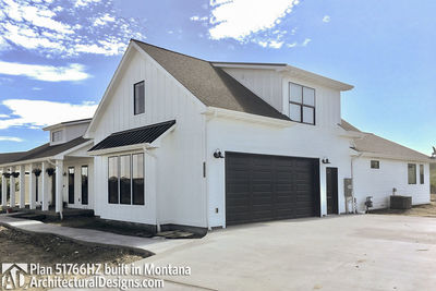 Exclusive Modern Farmhouse Plan 51766HZ comes to life in Montana - photo 017