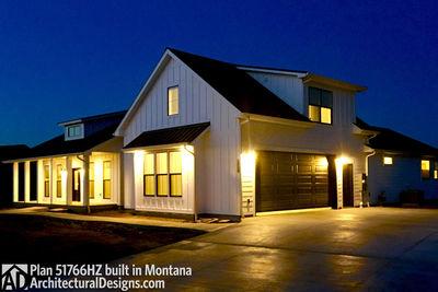 Exclusive Modern Farmhouse Plan 51766HZ comes to life in Montana - photo 018