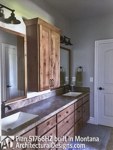 Exclusive Modern Farmhouse Plan 51766HZ comes to life in Montana - photo 028