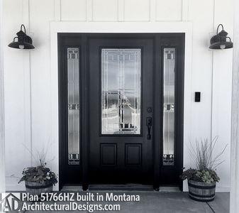 Exclusive Modern Farmhouse Plan 51766HZ comes to life in Montana - photo 006
