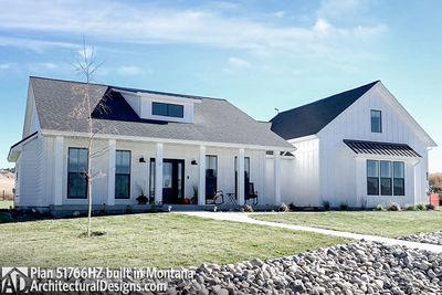 Exclusive Modern Farmhouse Plan 51766HZ comes to life in Montana - photo 002