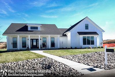 Exclusive Modern Farmhouse Plan 51766HZ comes to life in Montana - photo 003