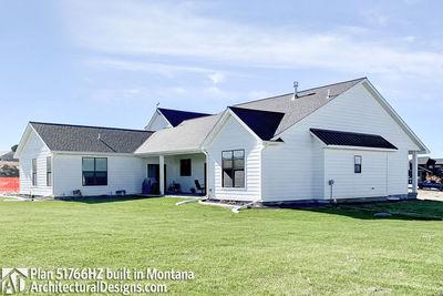 Exclusive Modern Farmhouse Plan 51766HZ comes to life in Montana - photo 007