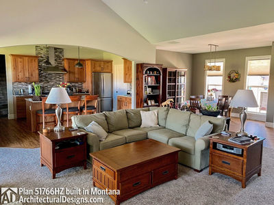 Exclusive Modern Farmhouse Plan 51766HZ comes to life in Montana - photo 009