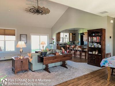 Exclusive Modern Farmhouse Plan 51766HZ comes to life in Montana - photo 011