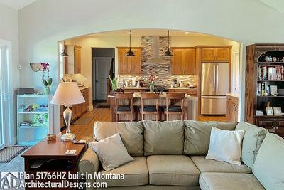 Exclusive Modern Farmhouse Plan 51766HZ comes to life in Montana - photo 012