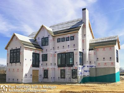 House Plan 16898WG Coming To Life In Michigan! - photo 032