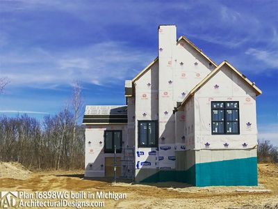 House Plan 16898WG Coming To Life In Michigan! - photo 033