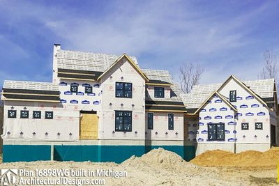 House Plan 16898WG Coming To Life In Michigan! - photo 034