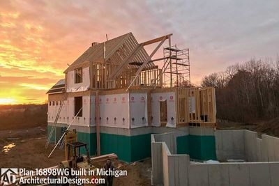 House Plan 16898WG Coming To Life In Michigan! - photo 040