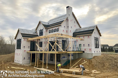 House Plan 16898WG Coming To Life In Michigan! - photo 029