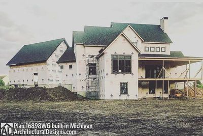 House Plan 16898WG Coming To Life In Michigan! - photo 020