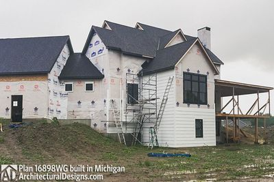 House Plan 16898WG Coming To Life In Michigan! - photo 016