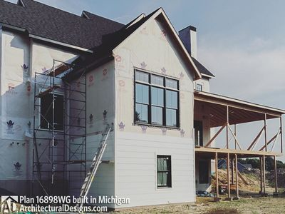 House Plan 16898WG Coming To Life In Michigan! - photo 017