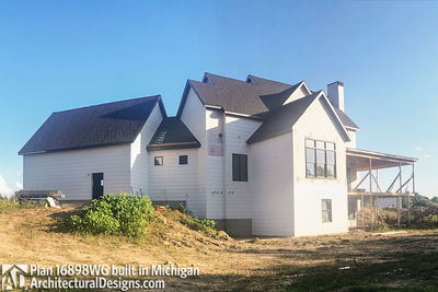 House Plan 16898WG Coming To Life In Michigan! - photo 025