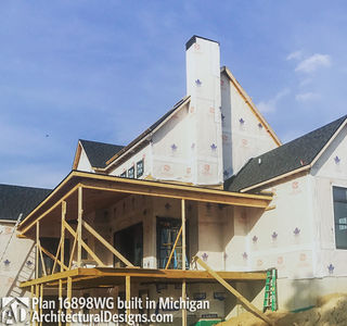House Plan 16898WG Coming To Life In Michigan! - photo 024