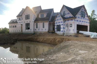 House Plan 16898WG Coming To Life In Michigan! - photo 021
