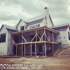 House Plan 16898WG Coming To Life In Michigan! - photo 027