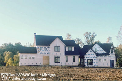 House Plan 16898WG Coming To Life In Michigan! - photo 004