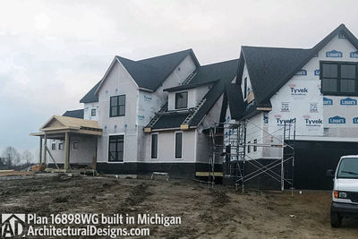 House Plan 16898WG Coming To Life In Michigan! - photo 001