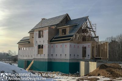 House Plan 16898WG Coming To Life In Michigan! - photo 045