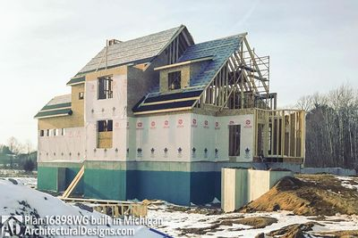House Plan 16898WG Coming To Life In Michigan! - photo 044