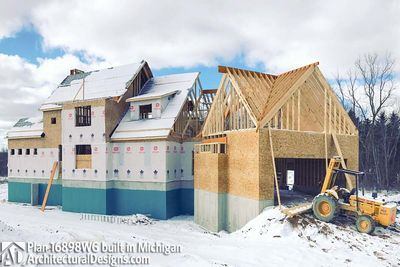 House Plan 16898WG Coming To Life In Michigan! - photo 043