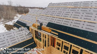 House Plan 16898WG Coming To Life In Michigan! - photo 037