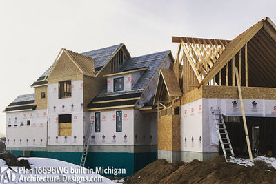House Plan 16898WG Coming To Life In Michigan! - photo 036