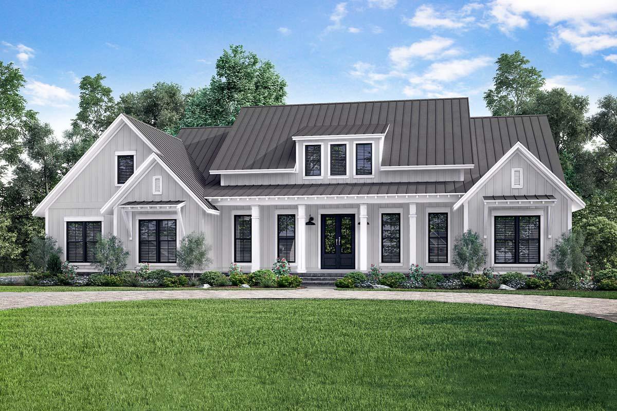 Open-Concept Farmhouse With Bonus Over Garage