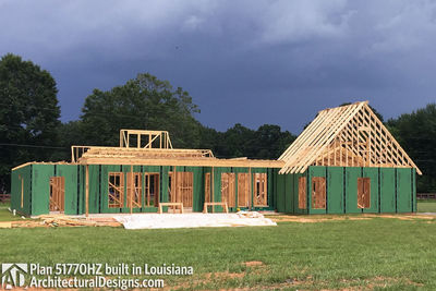 Exclusive House Plan 51770HZ comes to life in Louisiana - photo 025