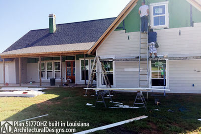 Exclusive House Plan 51770HZ comes to life in Louisiana - photo 014