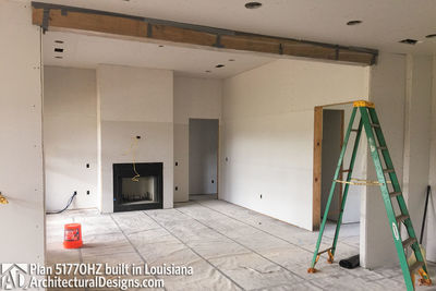 Exclusive House Plan 51770HZ comes to life in Louisiana - photo 016