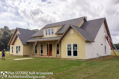 Exclusive House Plan 51770HZ comes to life in Louisiana - photo 012