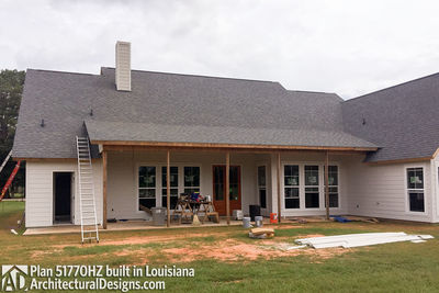 Exclusive House Plan 51770HZ comes to life in Louisiana - photo 011