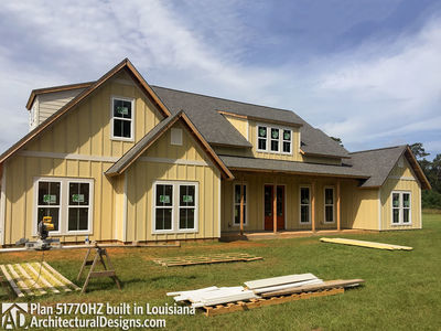 Exclusive House Plan 51770HZ comes to life in Louisiana - photo 009