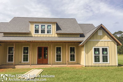 Exclusive House Plan 51770HZ comes to life in Louisiana - photo 008