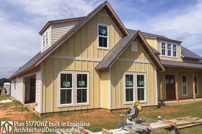 Exclusive House Plan 51770HZ comes to life in Louisiana - photo 010