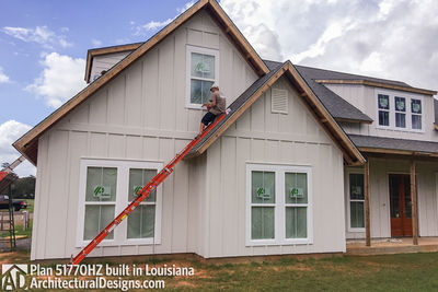 Exclusive House Plan 51770HZ comes to life in Louisiana - photo 007