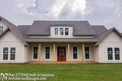 Exclusive House Plan 51770HZ comes to life in Louisiana - photo 006